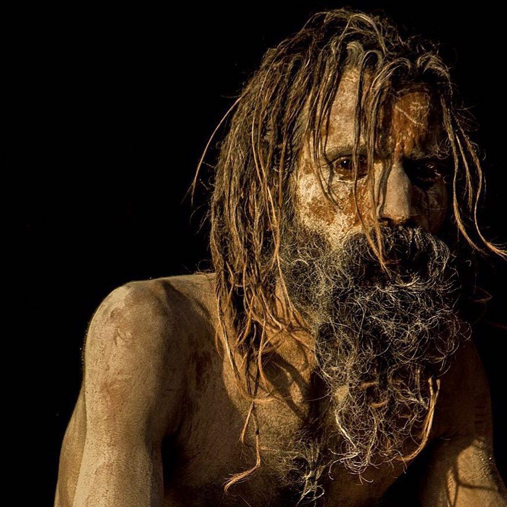 Dürrer Mann Portrait