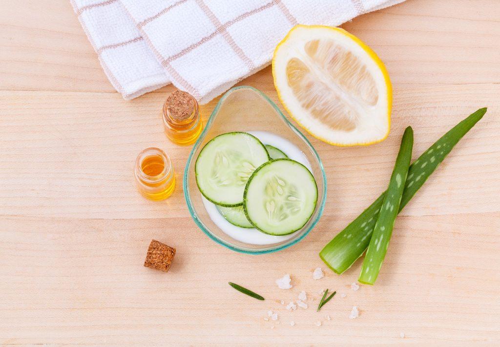 Gurken Zitronen und Aloe Vera